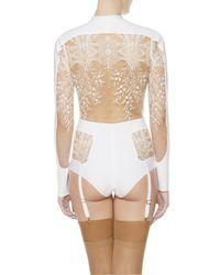 La Perla | White Bodysuit | Lyst