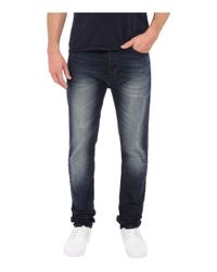 Calvin Klein Jeans | Taper Jeans In Blue Shadow for Men | Lyst