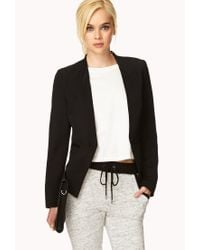Forever 21 | Black Tuxedo-inspired Jacket You've Been Added To The Waitlist | Lyst