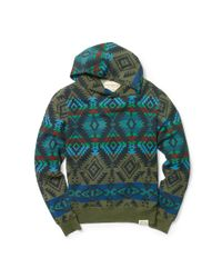 Denim & Supply Ralph Lauren - Multicolor Geometric Cotton Hoodie for Men - Lyst