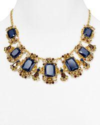kate spade new york | Blue Symphony Sparkle Stone Link Necklace | Lyst