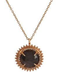 Eva Fehren | Metallic Women's Nina Pendant Necklace | Lyst