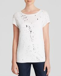Generation Love - White Tee - Speckled - Lyst