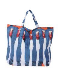 MSGM   Blue Handbag   Lyst
