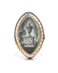 Alexis Bittar | Metallic 1800S Mourning Ring | Lyst