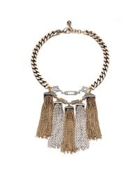 Lulu Frost - Metallic Metronome Necklace - Lyst