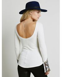 Free People | White Bali Babe Cuff | Lyst