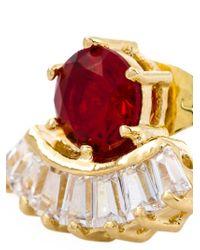 Iosselliani   Red 'all That Jewels' Earrings   Lyst