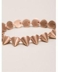 Eddie Borgo - Metallic Small Cone Bracelet - Lyst