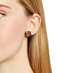 Pink Pony - Metallic Lauren Stud Earrings - Lyst