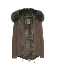 Mr & Mrs Italy - Brown Fur-lined Parka-style Jacket - Lyst