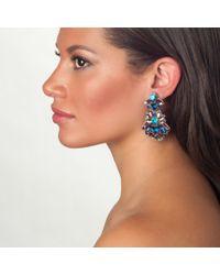 Suzanna Dai | Metallic Sunset Boulevard Drop Earrings | Lyst