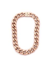Luv Aj - Pink They Tyson Choker Necklace - Antique Rose Gold - Lyst