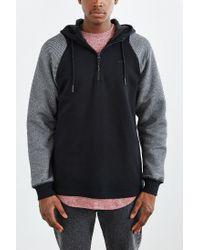 Adidas - Black Twill Sweatshirt for Men - Lyst