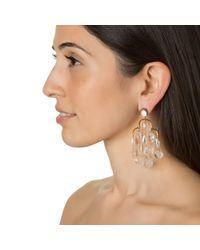 Asha | Metallic Giselle Earrings | Lyst