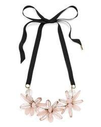 BaubleBar   'plumeria' Collar Necklace - Light Pink   Lyst