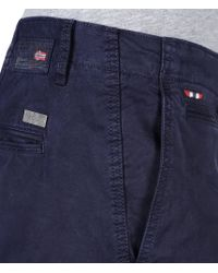 Napapijri | Blue Chinos for Men | Lyst