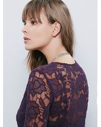Free People - Purple Womens With Love Dress - Lyst