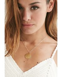 Forever 21 | Metallic Moon And Lola Medium Dalton S Necklace | Lyst
