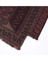 Paul Smith | Red Rug Tapestry Pattern Silk-blend Scarf for Men | Lyst