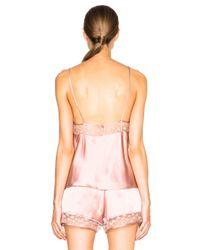 Fleur du Mal - Pink Star Lace Cami - Lyst