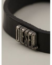 DIESEL | Black 'amozzar' Pack Bracelet for Men | Lyst