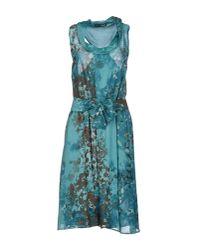 Liu Jo - Blue Knee-length Dress - Lyst