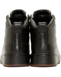 3.1 Phillip Lim | Black Pl31 Leather Sneakers for Men | Lyst