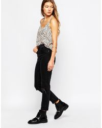 Blend She - Black Ina Top - Lyst