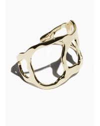 & Other Stories - Metallic Cutout Cuff - Lyst