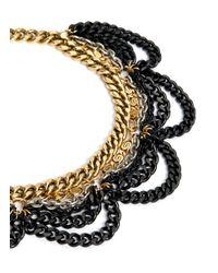 Ela Stone - Multicolor Daisy Multi-chain Necklace - Lyst