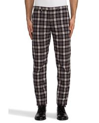 Marc By Marc Jacobs - Bromley Plaid Trouser in Brown for Men - Lyst