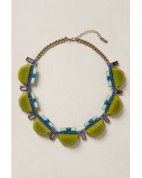 BaubleBar | Green Veld Bib Necklace | Lyst