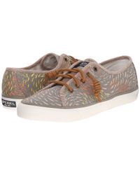 Sperry Top-Sider - Gray Seacoast Fish Circle - Lyst