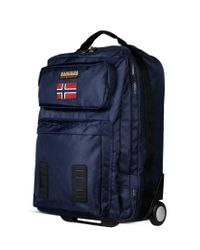 Napapijri | Blue Wheeled Luggage for Men | Lyst