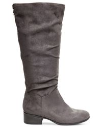 Madden Girl | Gray Persiss Slouchy Boots | Lyst