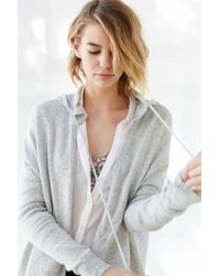 Silence + Noise | Gray Take Your Time Cardigan | Lyst