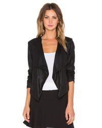 BB Dakota - Black Alaura Leather Jacket - Lyst