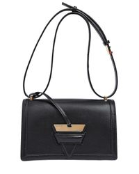 Loewe | Black Barcelona 24 Box Leather Shoulder Bag | Lyst