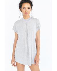 Silence + Noise | Gray Carroll Gardens Pleated Tee | Lyst