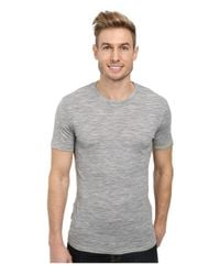 Icebreaker | Gray Anatomica Short Sleeve Crewe for Men | Lyst