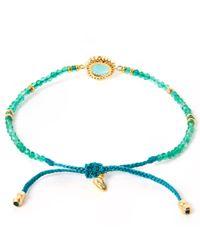 Tai | Blue Turquoise Starburst Beaded Bracelet | Lyst