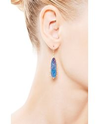 Kothari - Blue One Of A Kind Boulder Opal Satellite Drop Earrings - Lyst