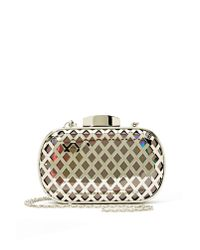 Nasty Gal | Metallic Like A Diamond Clutch | Lyst
