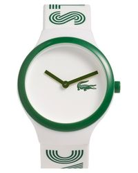 Lacoste | Green 'goa' Silicone Strap Watch | Lyst