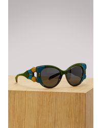 Prada - Multicolor Tapestry Sunglasses - Lyst