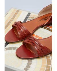 Michel Vivien Multicolor Amy Flat Sandals