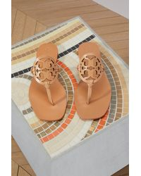 Tory Burch Multicolor Cross Design Sandals