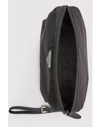 Prada - Black Nylon Clutch Bag - Lyst