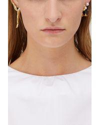 Delfina Delettrez - Multicolor Lips Piercing Single Earring - Lyst